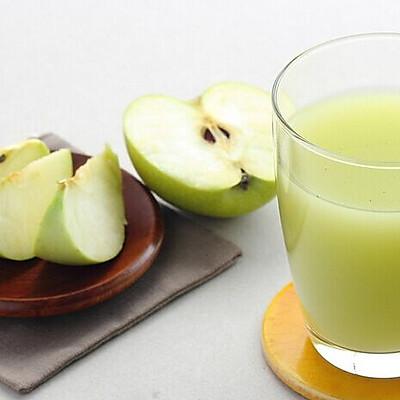 自制廋身养颜苹果汁