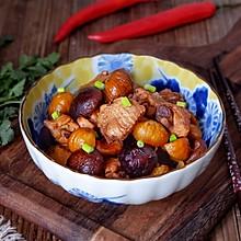 香菇栗子焖鸡翅#新年开运菜,好事自然来#
