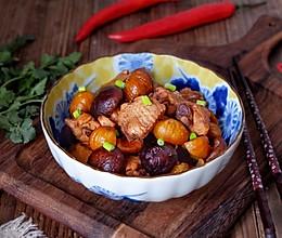 香菇栗子焖鸡翅#新年开运菜,好事自然来#的做法