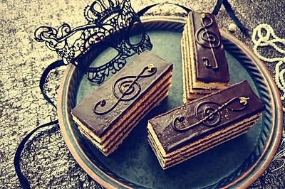 欧培拉歌剧院蛋糕#我的烘焙不将就#