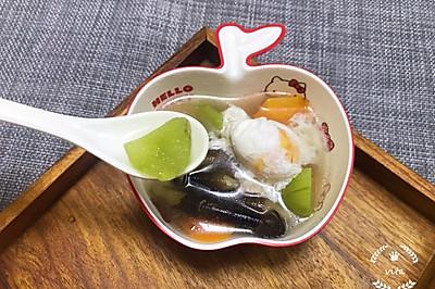 #520,美食撩动TA的心!#莴笋红萝卜蘑菇滚咸蛋