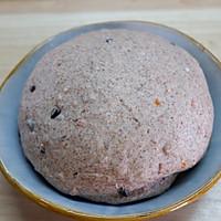 肉肉咸口味儿面包-----黑全麦橄榄培根面包的做法图解6