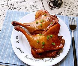 蜜汁烤鸭腿的做法