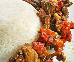 一人食•红椒牛肉的做法