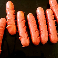 烤箱版热狗的做法图解2