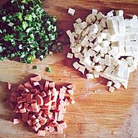 豆腐蔬菜羹#美的早安豆漿機#的做法图解1