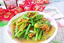 #仙女们的私藏鲜法大PK#清炒南瓜花的做法