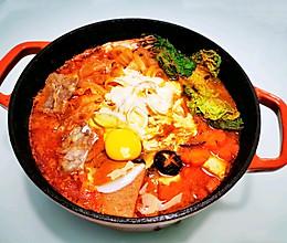 #快手又营养,我家的冬日必备菜品#足料部队锅的做法