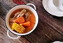 #人人能开小吃店#胡萝卜玉米大骨汤的做法