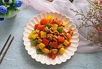 #花10分钟,做一道菜!#彩椒鸡丁的做法