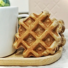 巧克力华夫饼#憋在家里吃什么#