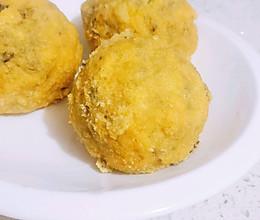 【低卡减脂】低脂玉米面菜团子~皮薄馅大❗的做法