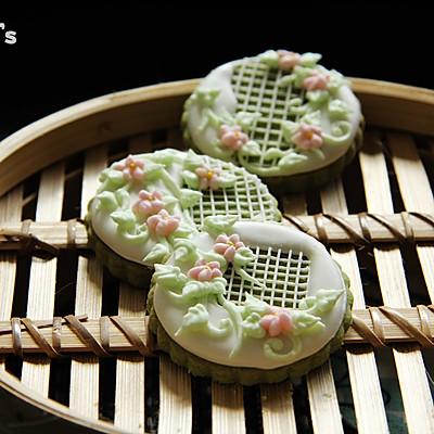 【春绿。糖霜饼干】