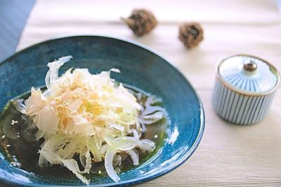 前菜的起手式:和風涼拌洋蔥