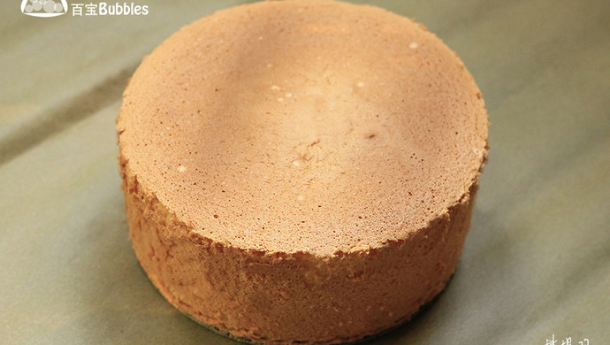 堪称完美的6寸戚风蛋糕