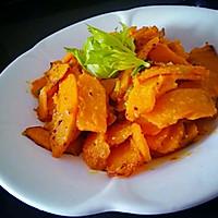 咸蛋黄焗南瓜的做法图解11