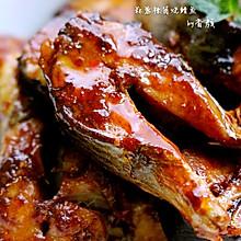 蒜蓉辣酱烧鲭鱼