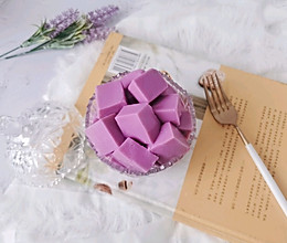 紫薯牛奶布丁的做法