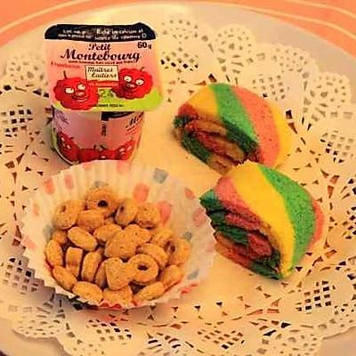 彩虹蛋糕卷—by Ocean麻麻