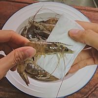 口蘑芦笋炒虾仁的做法图解3