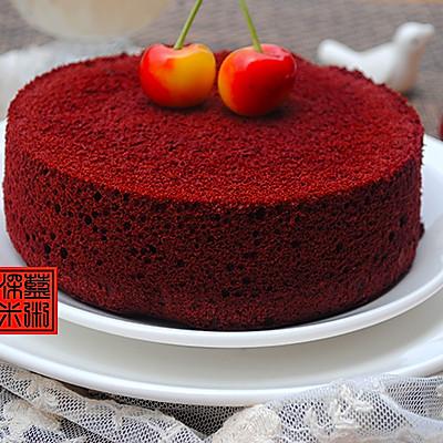 六寸红丝绒蛋糕