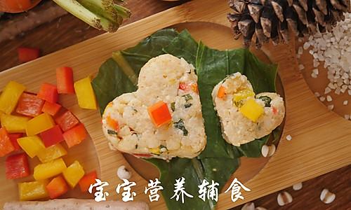彩蔬鸡肉烩饭的做法