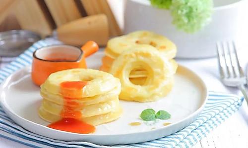 苹果甜甜圈 宝宝辅食食谱的做法