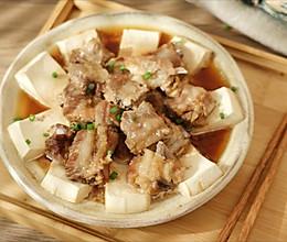 怕下厨,就来一道荤素搭配的蒸菜——豆腐蒸排骨【孔老师教做菜】的做法