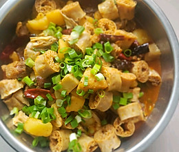#下饭红烧菜#芋儿豆肠烧鸭的做法