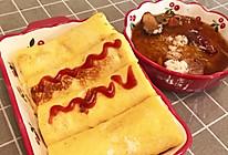 芝士火腿面包卷,花样早餐的做法