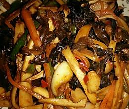 鱼香杏鲍菇的做法