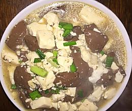孕妈食谱^ - ^血汤豆腐的做法