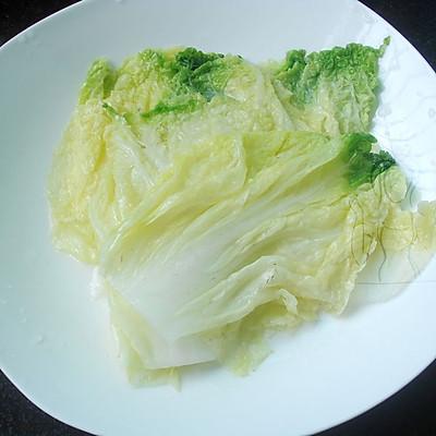 蒸白菜卷 #方太蒸爱行动#的做法 步骤3