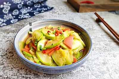 醋熘西葫芦#做道好菜,自我宠爱!#