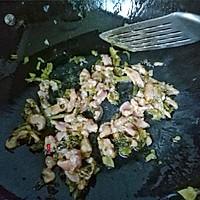 苦瓜雪菜炒肉的做法图解6