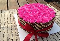 玫瑰花束蛋糕的做法