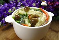 【家常菜】五彩鱼丝汤的做法