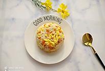 超级简单的蛋炒饭的做法