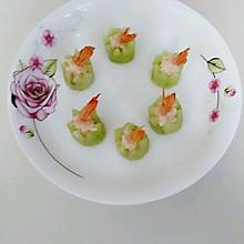 青瓜虾仁盅