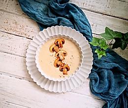 无奶油鸡肉蘑菇浓汤的做法