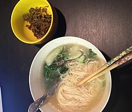 清水挂面(晚餐吃 轻松减肥)的做法