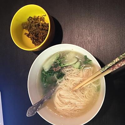 清水挂面(晚餐吃 轻松减肥)