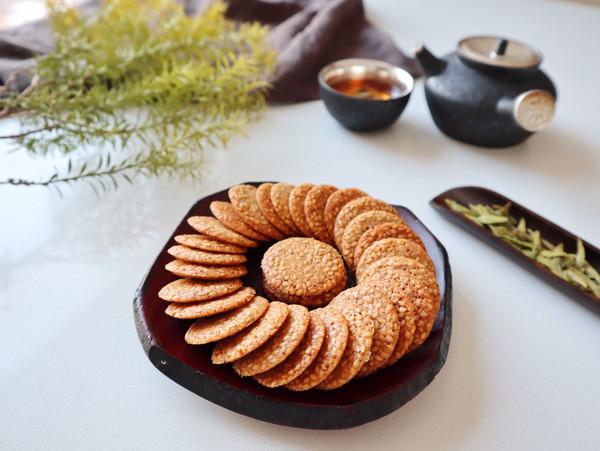 嘎嘣脆的薄脆饼干的做法