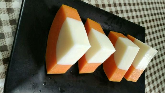 牛奶木瓜冻