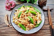 正宗东北尖椒干豆腐的做法
