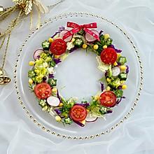 圣诞花环沙拉&圣诞树沙拉,满满的节日气氛