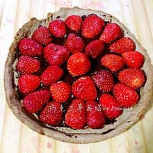 巧克力草莓塔