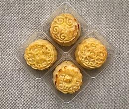 爆浆奶黄月饼的做法