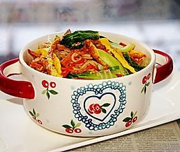 #全电厨王料理挑战赛热力开战!#炒米线的做法
