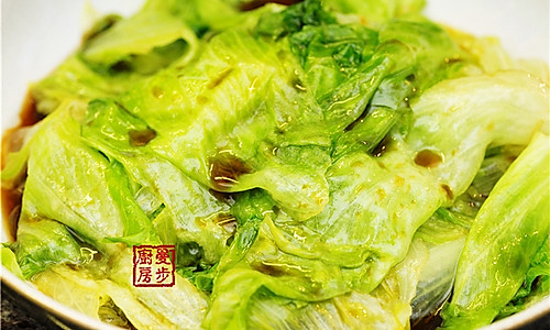 【曼步厨房】蚝油生菜的做法